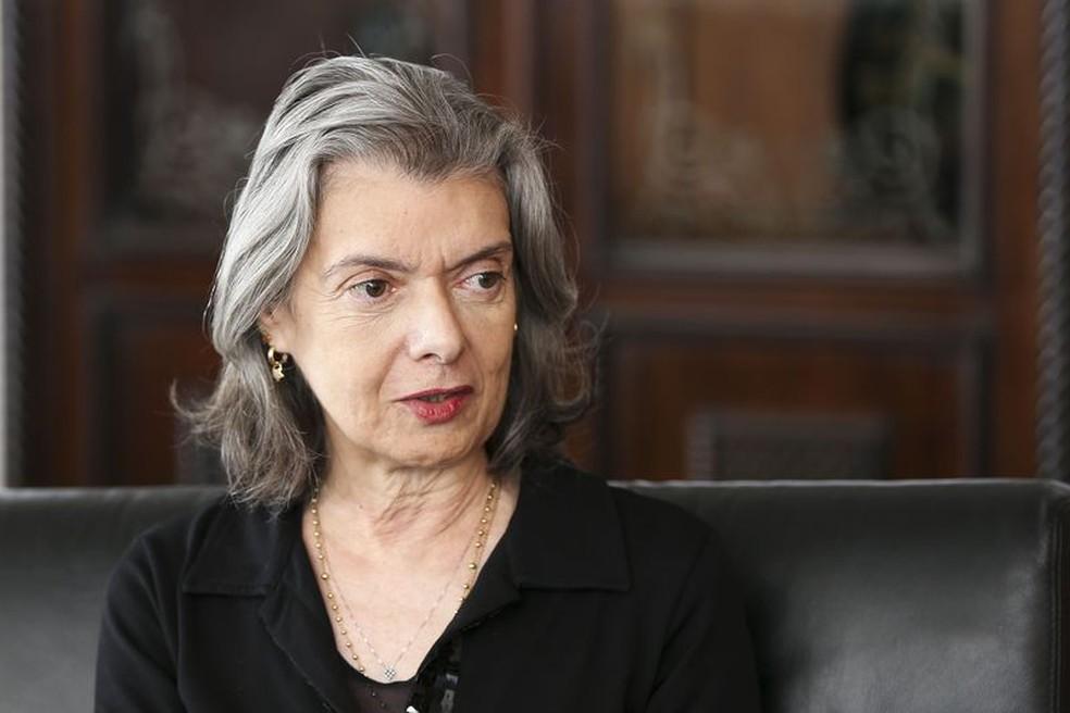 A presidente do STF, ministra Cármen Lúcia (Foto: Marcelo Camargo / Agência Brasil)