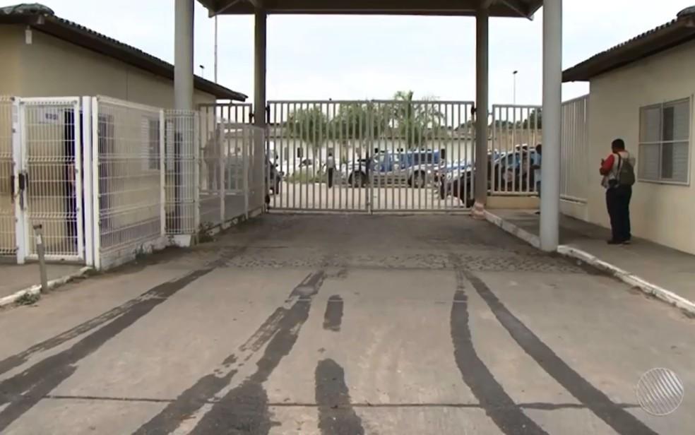 Jovem foi levado para a Case de Feira de Santana — Foto: Reprodução/ TV Subaé