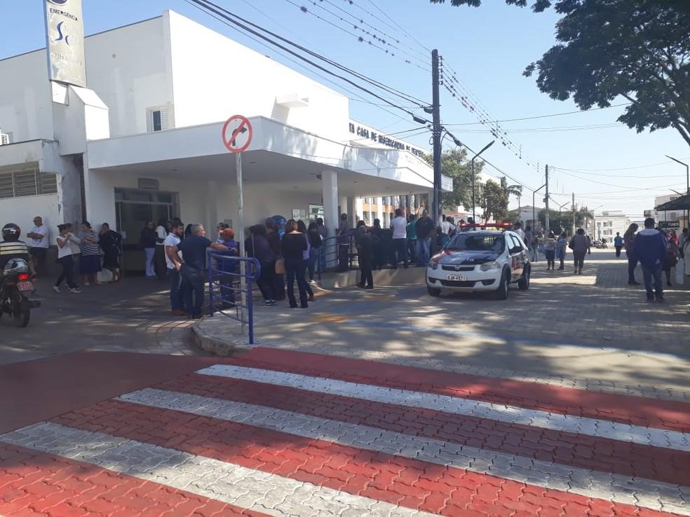 Vítimas foram encaminhadas à Santa Casa de Itapeva (SP) â?? Foto: Arquivo Pessoal