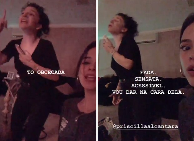 Bruna Marquezine e Priscilla Alcântara (Foto: Reprodução / Instagram)
