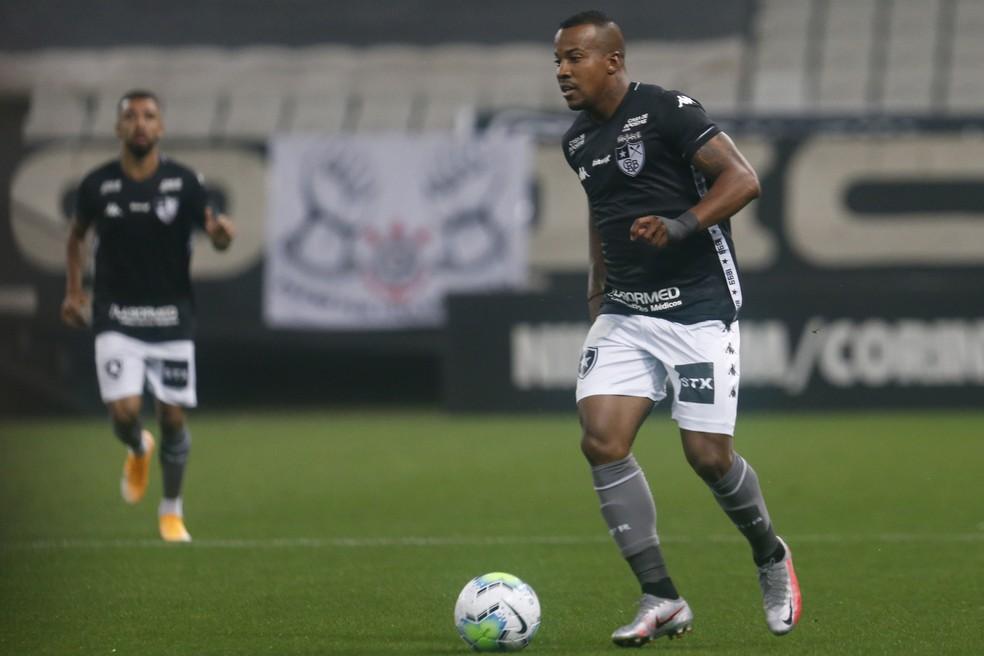 Guilherme chegou ao Botafogo no início de 2020 — Foto: Vitor Silva/Botafogo