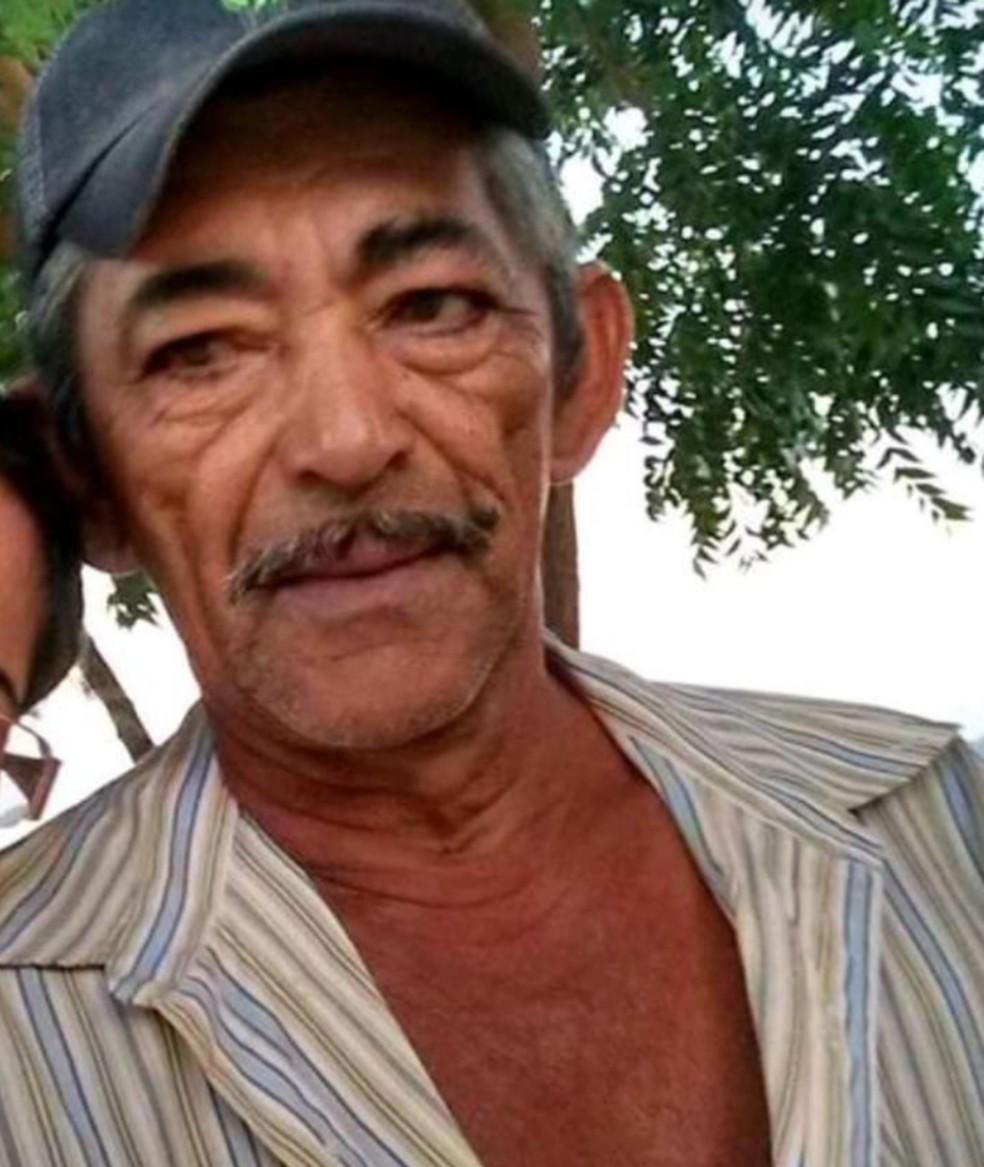 Francisco Pinheiro Maia da Silva, 64 anos, morreu após ser atingido por raio no interior do Ceará. — Foto: Arquivo pessoal