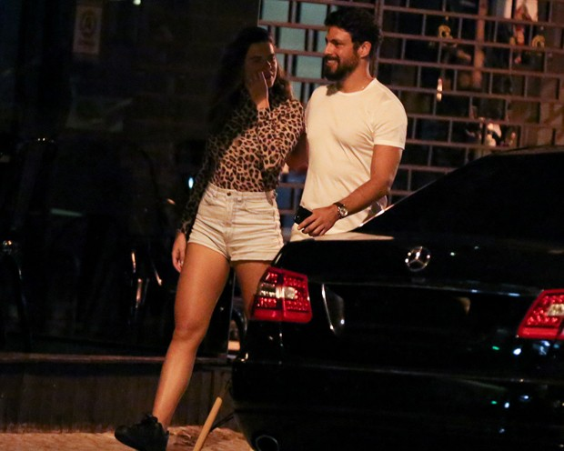 Cauã Reymond e Mariana Goldfarb (Foto: Thiago Martins/AgNews)