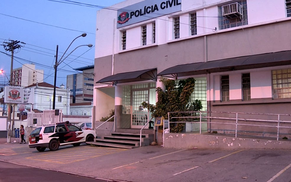 Caso foi registrado no 1º Distrito Policial de Campinas — Foto: Reprodução/EPTV