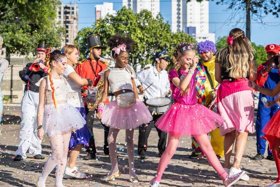 Me Leva Mamãe é o primeiro e único bloco infantil do pré-carnaval de Natal — Foto: Assessoria de Imprensa Feel Culture/Acarta Comunicação