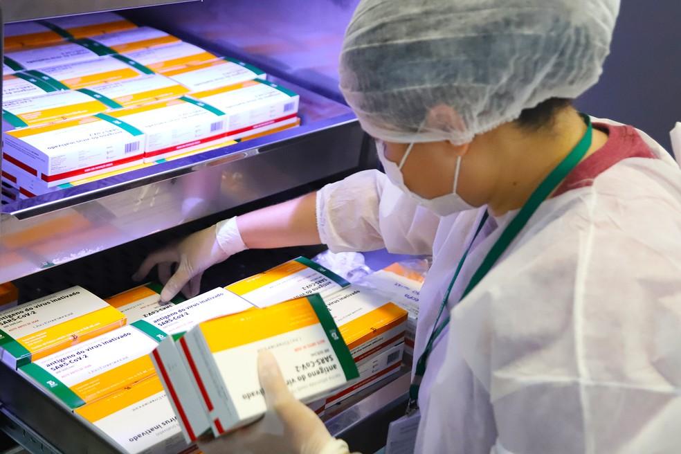 Segundo a SES-MG, mais de 40 mil pessoas já foram imunizadas contra a Covid-19 no Sul de Minas — Foto: Divulgação/ Prefeitura de Santa Bárbara d'Oeste