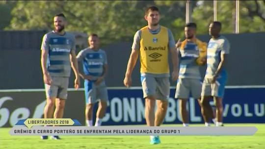 Grêmio pronto para encarar desafio na Libertadores