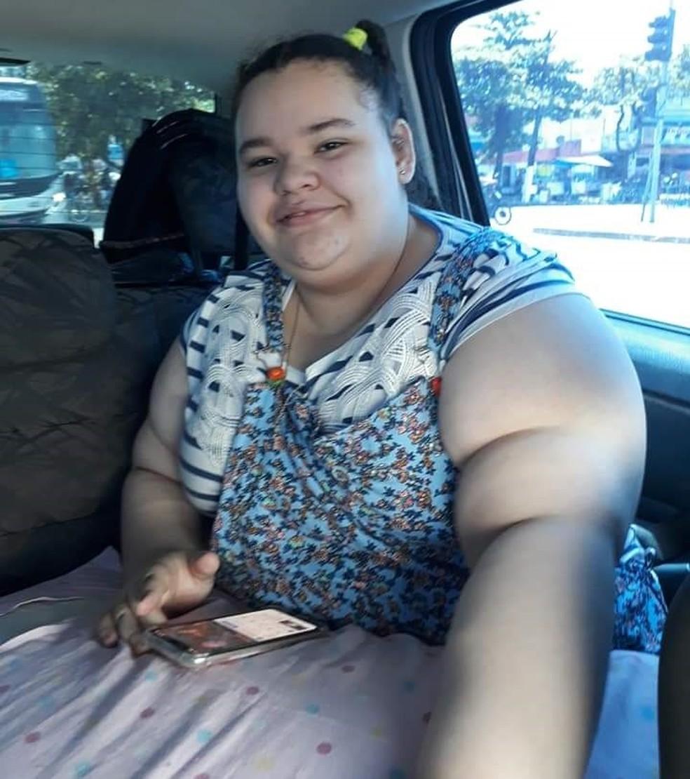 Allicia tem síndrome rara que causa obesidade e deficiência intelectual — Foto: Arquivo Pessoal