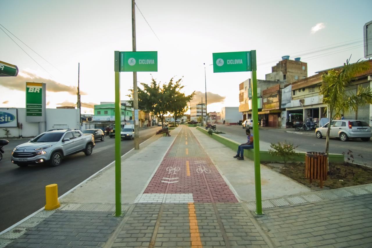 Segunda etapa da Via Parque é inaugurada, em Caruaru
