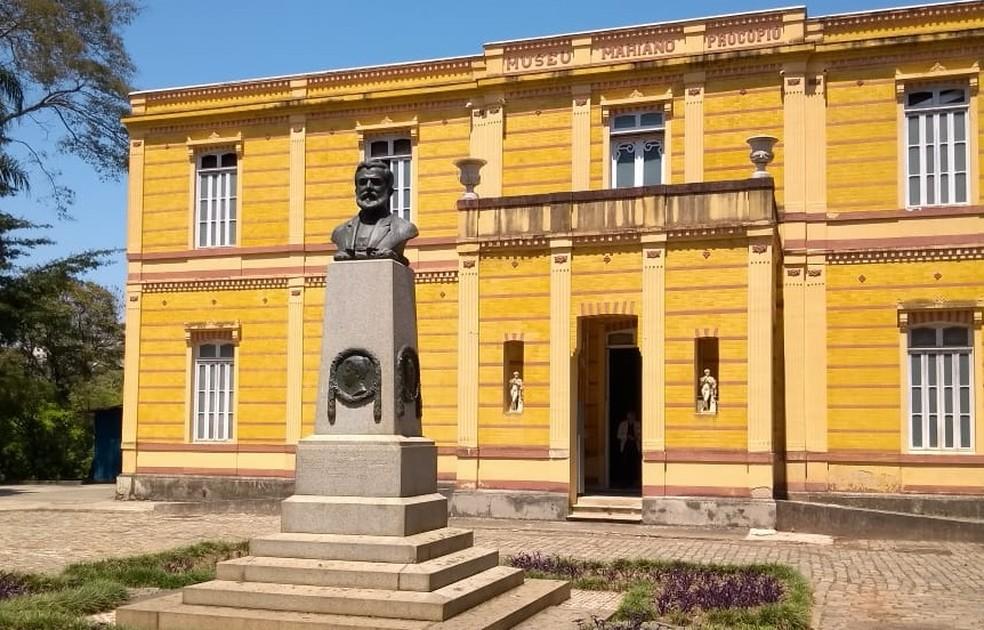 Museu Mariano Procópio em Juiz de Fora — Foto: Fellype Alberto/G1
