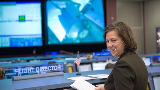 Holly Ridings, diretora-chefe de voo da Nasa (Foto: Divulgação/Nasa)
