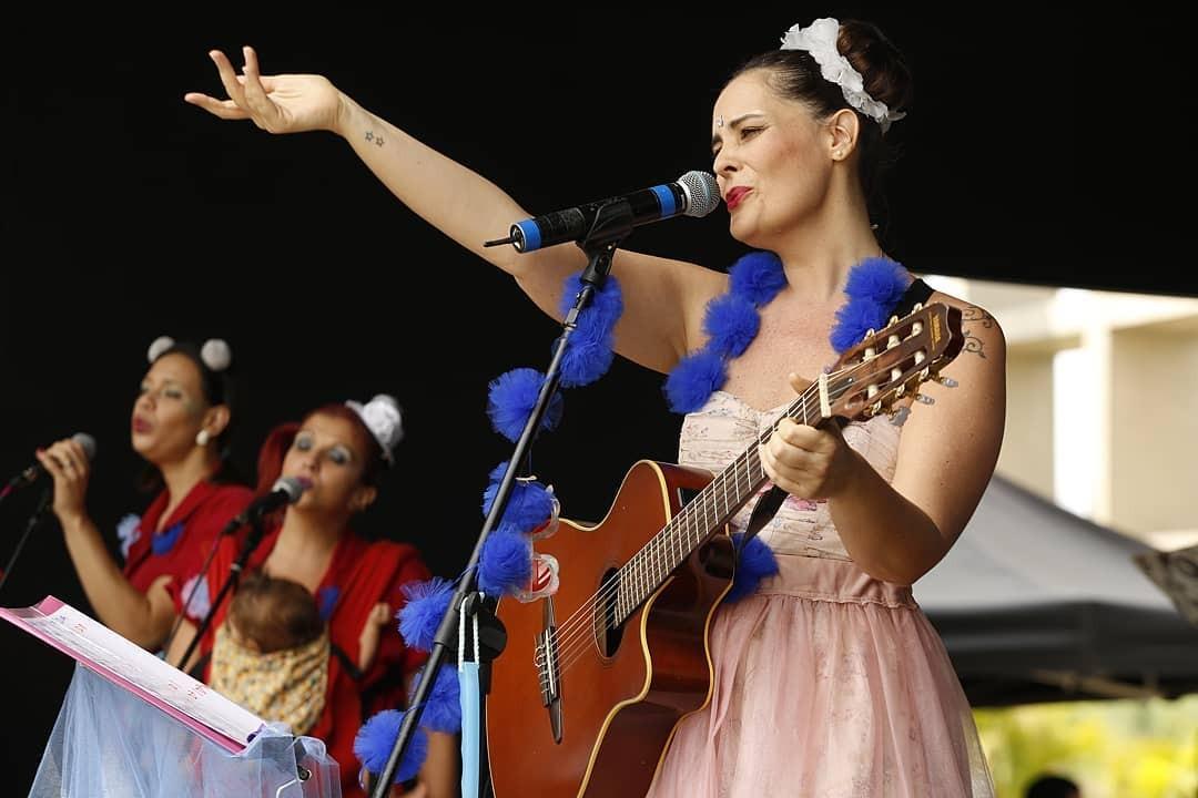 Isadora Canto emocionou quem estava por lá (Foto: Alexandre Di Paula/ Editora Globo)