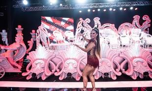 Viviane Araújo, rainha de bateria do Salgueiro: 'Tenho uma ligação forte com o carnaval' | Leandro Ribeiro