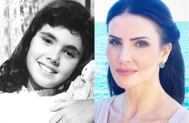 Lisandra Souto, do elenco de 'Apocalipse', interpretou a personagem-título de 'Sinhá moça' quando criança  (Foto: Acervo Globo Reprodução)