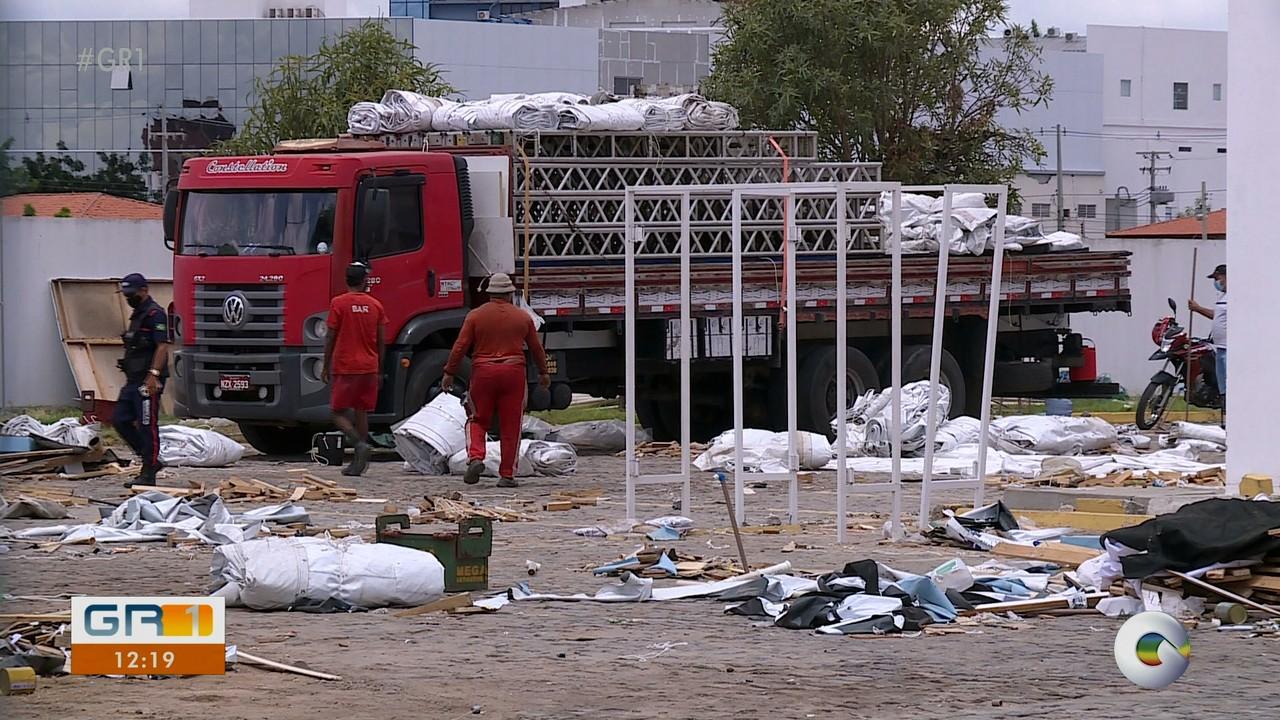 Hospital de Campanha do governo do estado é fechado em Petrolina