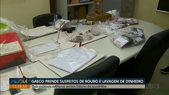 Gaeco faz operação contra organizações criminosas chefiadas por PMs; dois soldados foram presos