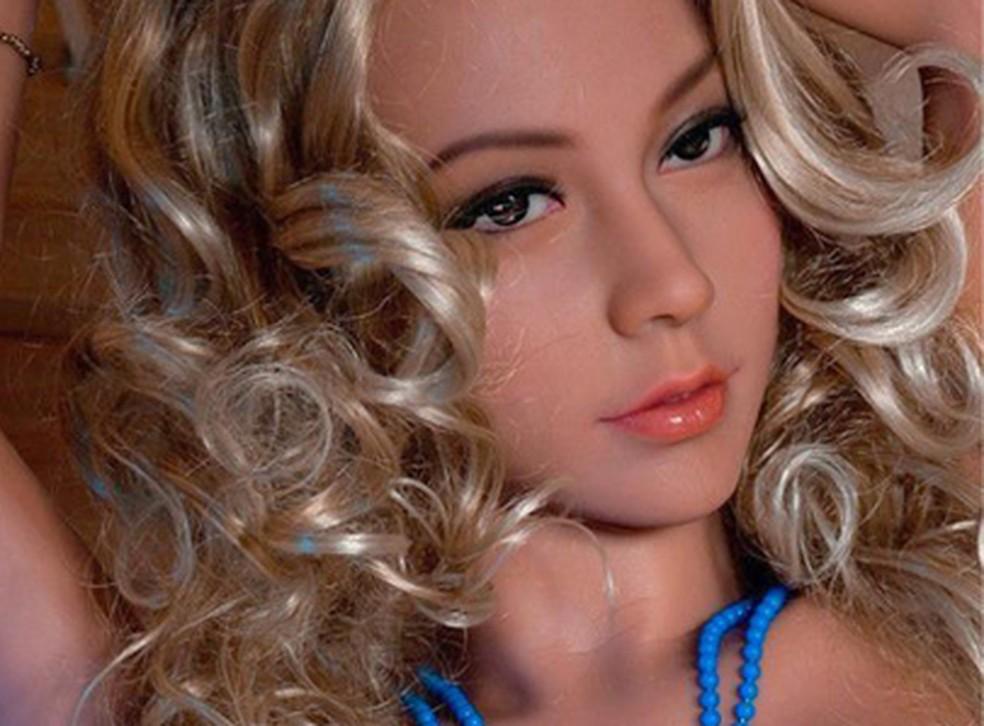 Renée, robô sexual da empresa Vivant Dolls, está disponível para aluguel no site — Foto: Divulgação/Vivant Dolls