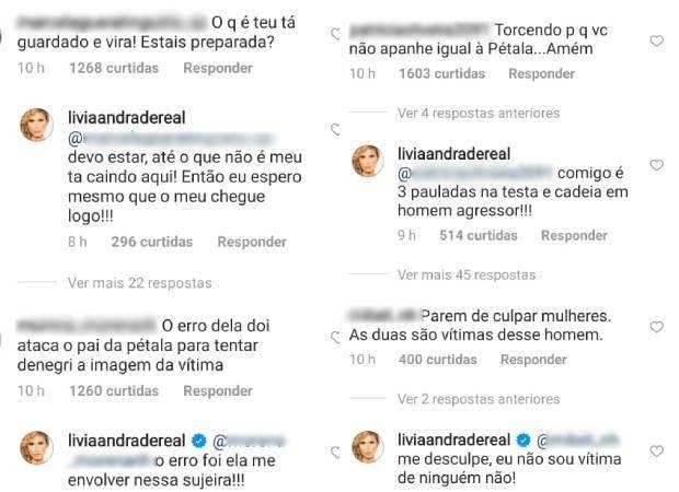 Lívia Andrade rebate críticas (Foto: Reprodução/Instagram)