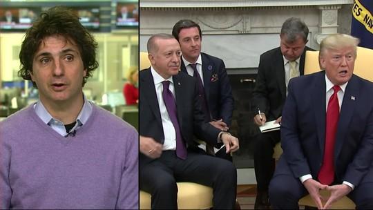 Donald Trump recebe presidente da Turquia na Casa Branca
