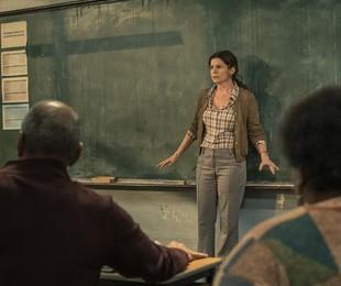 Debora Bloch em cena de 'Segunda chamada' | Mauricio Fidalgo/ TV Globo