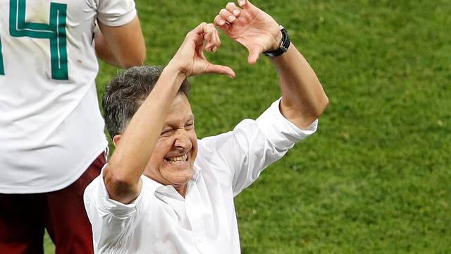 Juan Carlos Osorio superou críticas no comando do México