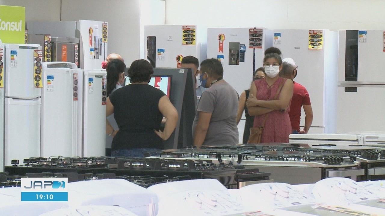 Comércio reabre em Macapá com horário reduzido e medidas protetivas