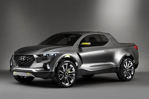 Hyundai Santa Cruz conceito (Foto: Divulgação)