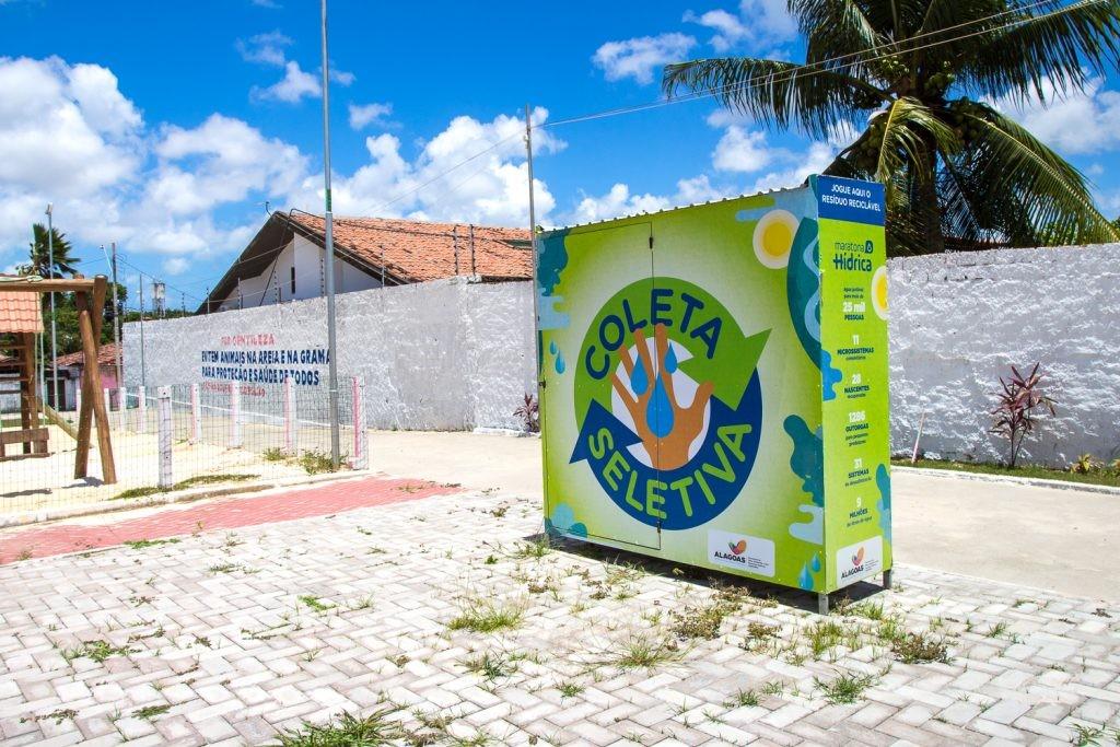 Onde descartar material reciclável em Maceió