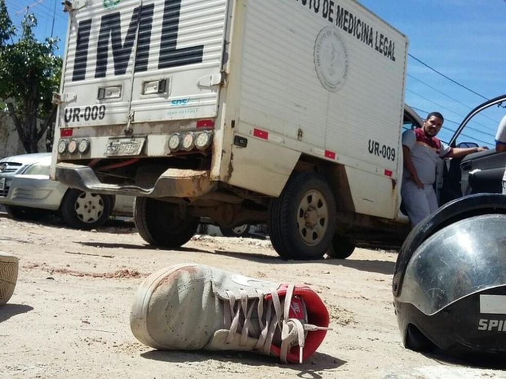 Entre janeiro e outubro de 2017, homicídios em Pernambuco superaram número contabilizado em 2016 (Foto: Marlon Costa/Pernambuco Press)