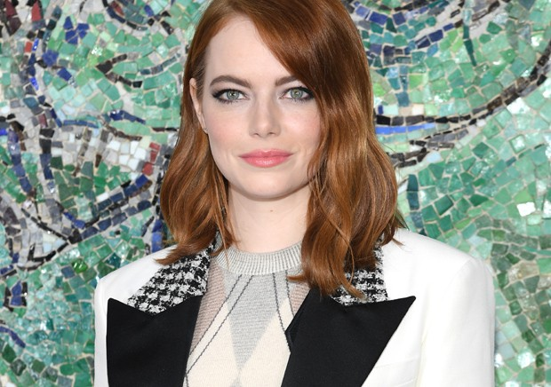 Emma Stone no desfile Cruise 2019 da Louis Vuitton (Foto: Getty Images)