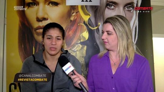 Ketlen Vieira se inspira em Maguila ao falar de luta contra Cat Zingano