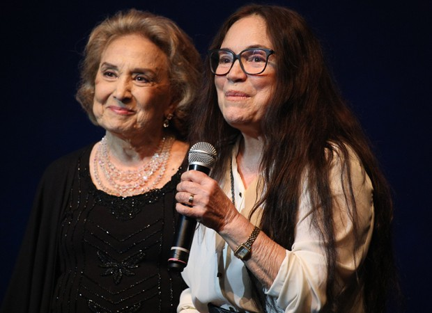 Eva Wilma é homenageada em premiação  (Foto: Deividi Correa / AgNews )