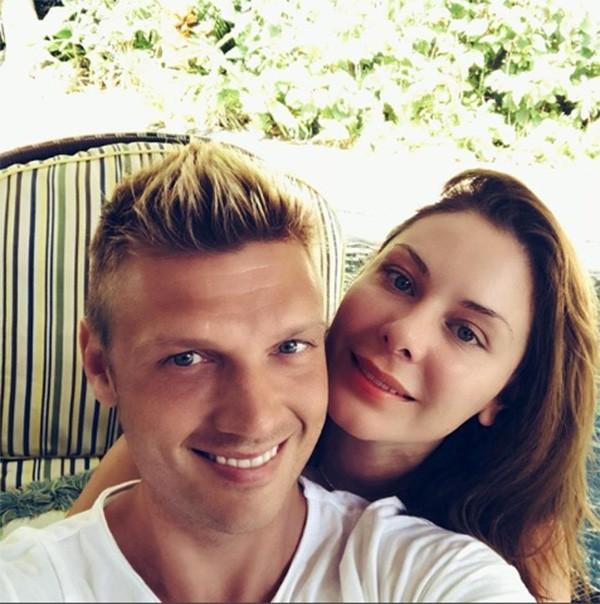 Nick Carter e Lauren (Foto: Instagram)