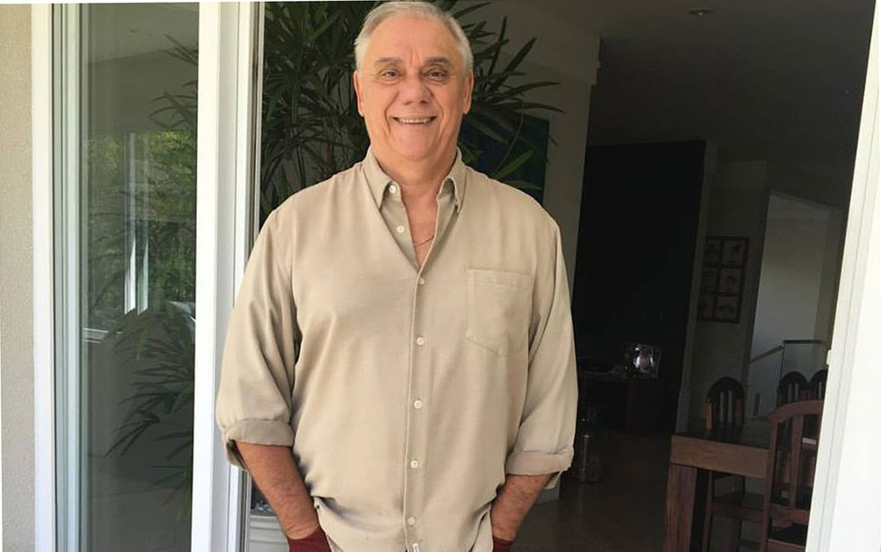 O jornalista Marcelo Rezende (Foto: Reprodução/Facebook/Marcelo Rezende)