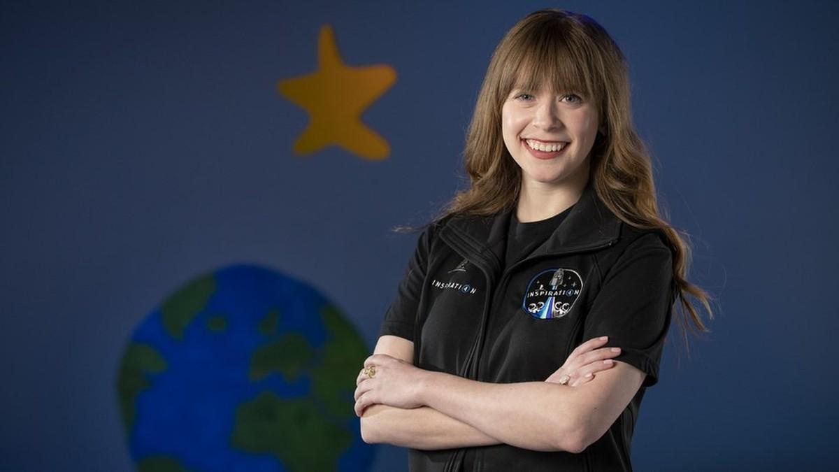A sobrevivente de câncer infantil que será a mais jovem americana a viajar ao espaço