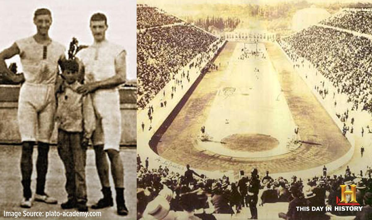 O grego Dimitrios Loundras (1885-1970) ainda é o atleta mais jovem a ter disputado um Olimpíada, a de 1896n em Atenas. (Foto: Reprodução Twitter/@HistoryAsia)