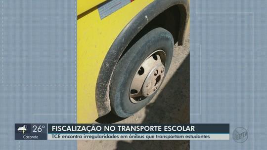 Tribunal de Contas flagra irregularidades no transporte escolar de cidades da região