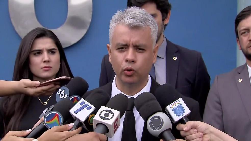 O delegado Jean Rockfeller é gestor das Delegacias Especializadas â?? Foto: Reprodução/TV Globo