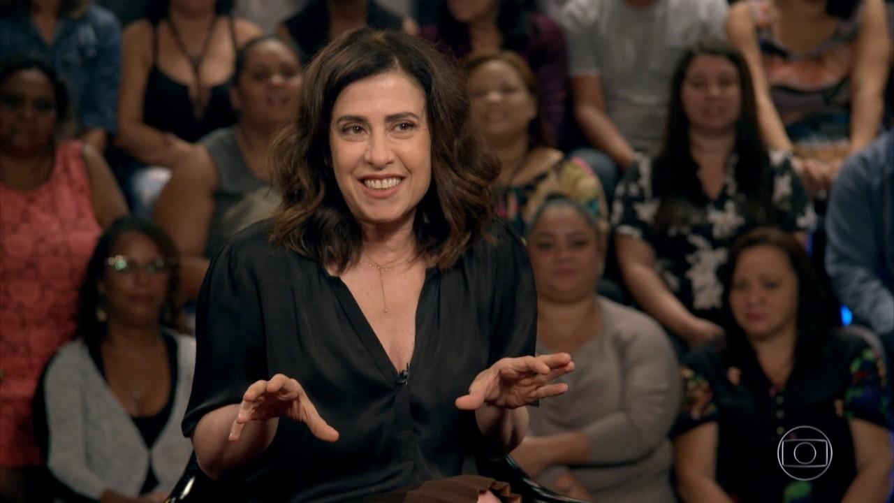 Fernanda Torres conta sua história no programa