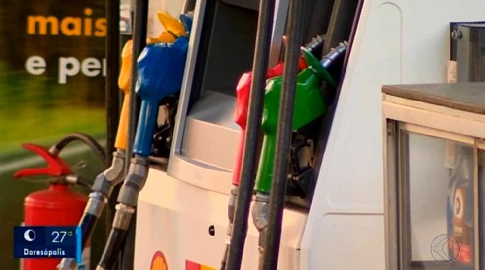 Veja o valor do combustível na capital — Foto: Reprodução/TV Integração