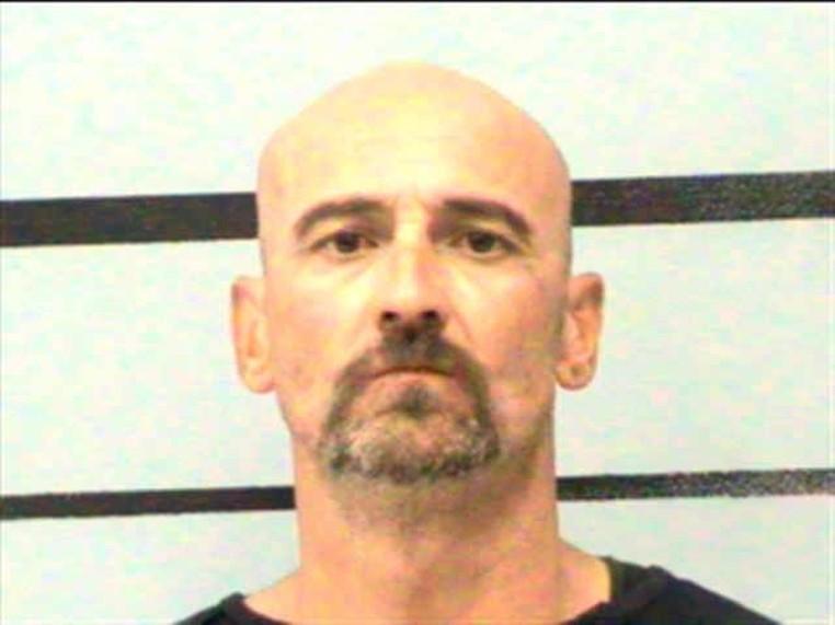Chad Coffey preso acusado de intoxicação em público (Foto: Lubbock County Detention Center)