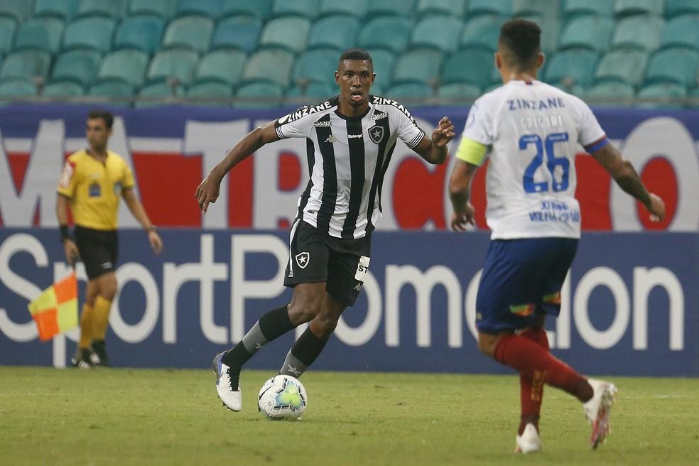 Kanu foi o melhor jogador do Botafogo diante do Bahia — Foto: Vitor Silva/Botafogo