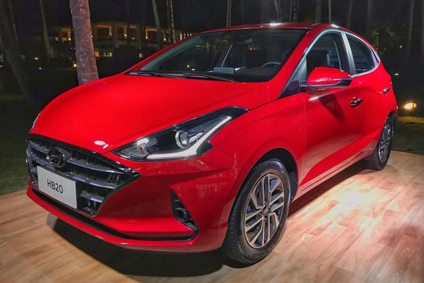 Novo Hyundai HB20 chega com preço inicial de R$ 46.290 (Foto: Diogo de Oliveira/Autoesporte)