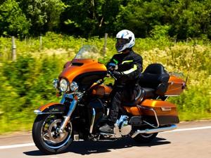 Harley-Davidson Ultra Limited (Foto: Pedro Bicudo/Divulgação)
