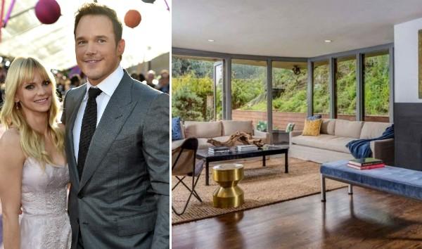 A antiga casa do ex-casal Anna Faris e Chris Pratt, vendida por US$ 2,09 milhões (Foto: Getty Images/Divulgação)