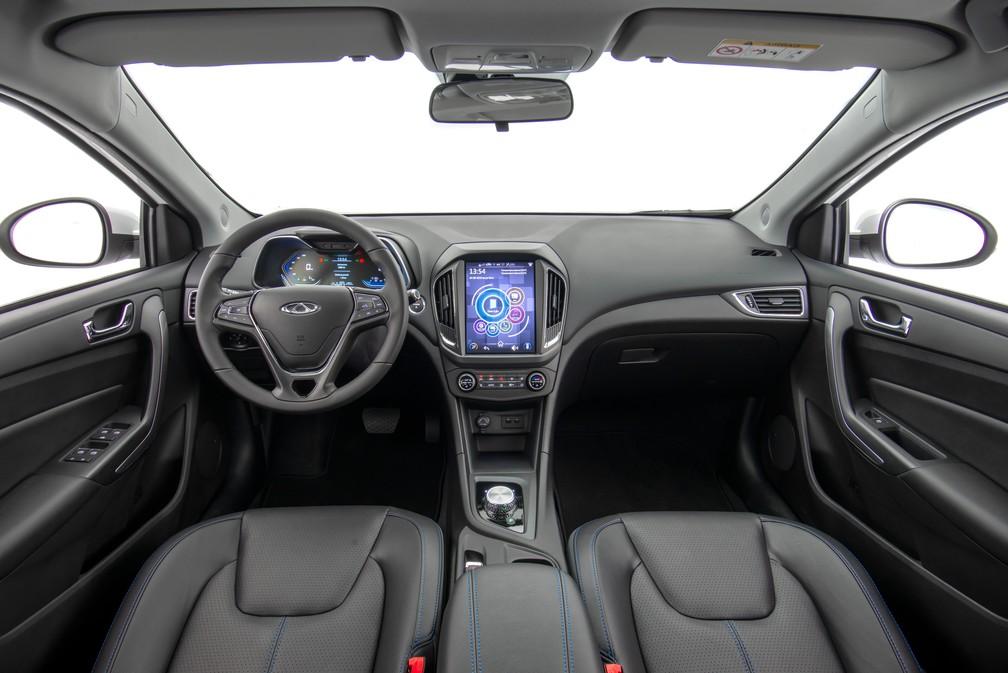 Electric Arrizo 5 has interior with slightly redesigned design in relation to flex - Photo: Divulgação / Caoa Chery