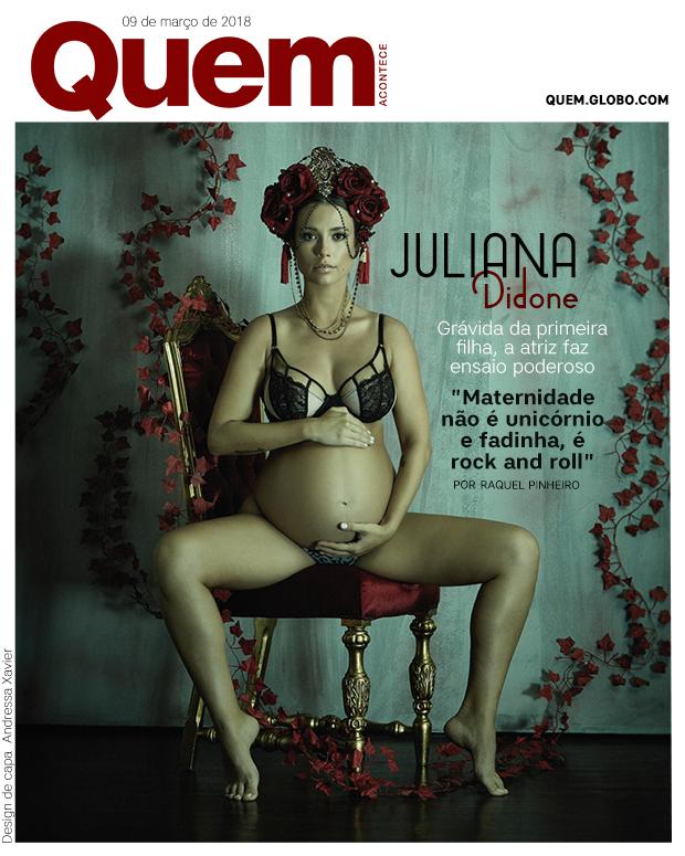 Juliana Didone (Foto: Projeto Annie Maternity por Gustavo Arrais/ Designer: Andressa Xavier)