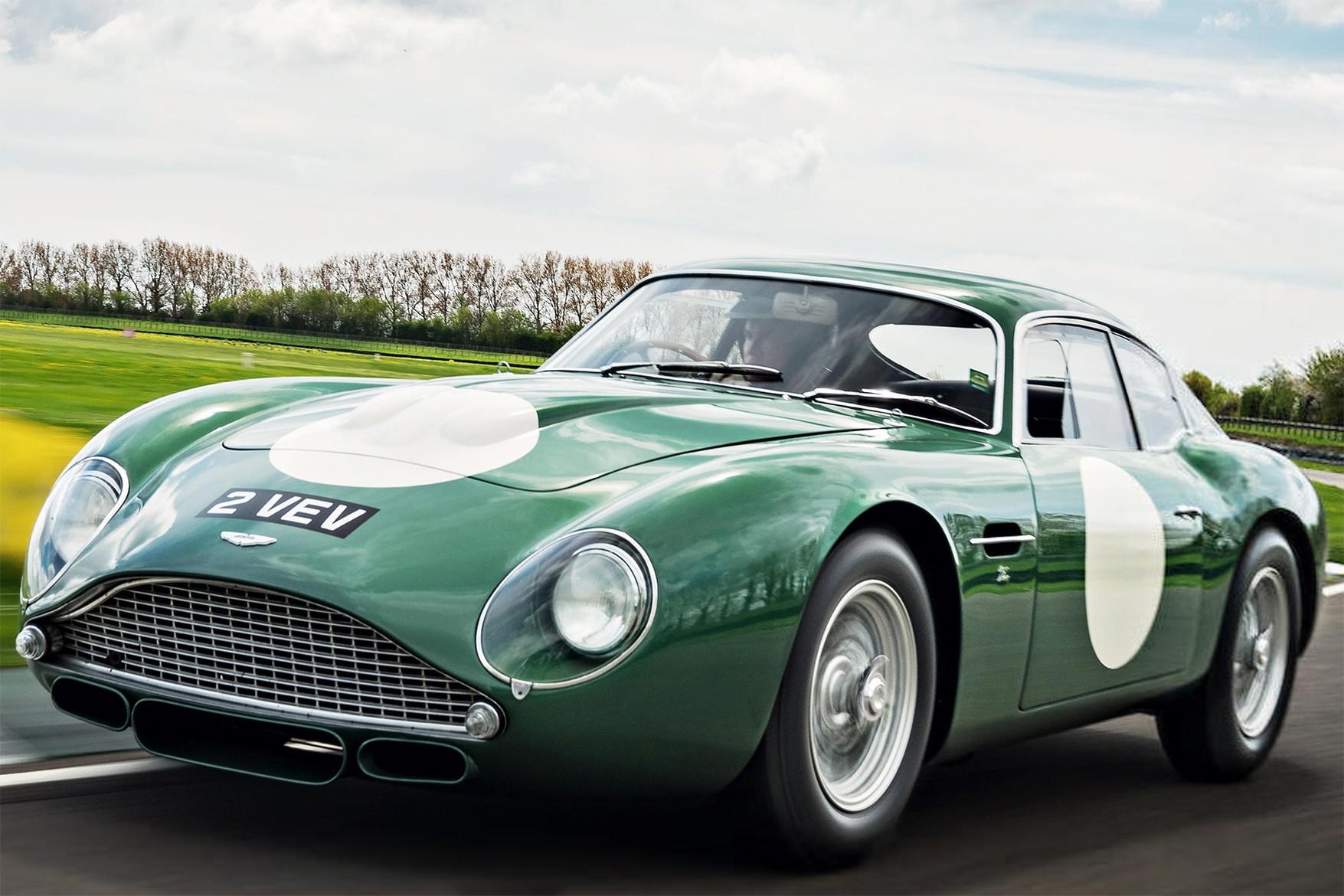 O Aston Martin 'MP209' DB$GT Zagato de 1961 (Foto: Divulgação)