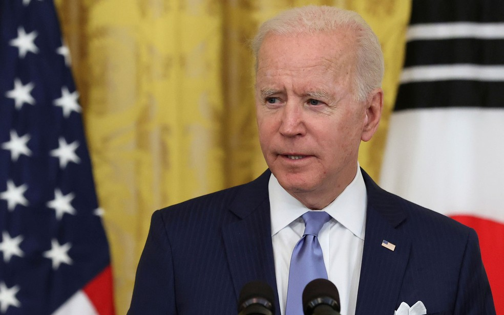 O presidente dos EUA, Joe Biden — Foto: Reuters/Jonathan Ernst
