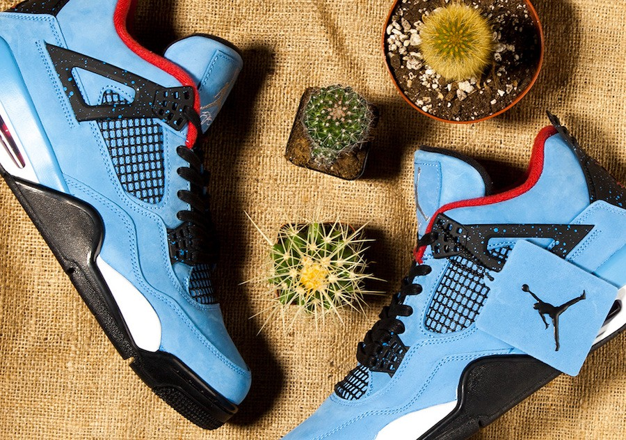 O Nike Air Jordan 4 'Cactus Jack' desenhado por Travis Scott (Foto: Divulgação)